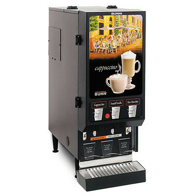 Bunn FMD-3-DBC-0000 Hot Beverage Dispenser with 3 Hoppers