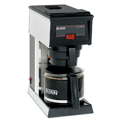 Bunn Coffee Maker Pourover Brewer 2.9 Gallons / Hour - A10-0000