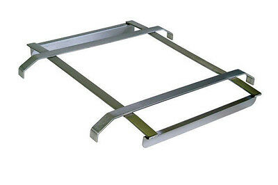 """BK Resources BK-SDTS-1824 Stainless Steel Rack Slide Fits 24""""W x 18""""D Sink Bowl"""