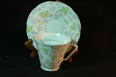Royal Grafton Pastel Floral deco   Cup and Saucer