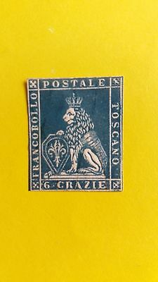 Italy Scarce 1851 6c Stamp In Great MNH Condition as Photos CV=$20.000.00