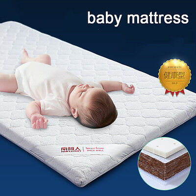 Nanjire Baby Toddler COT BED MATTRESS Breathable Nursery Waterproof Customizable