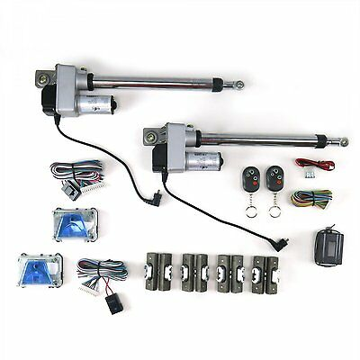 Automatic Gullwing Door Conversion Kit with Remote (2 Door) chopper small block
