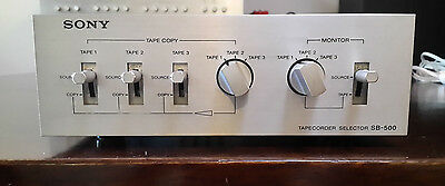 Vintage Sony SB-500 Tapecorder/Source Selector