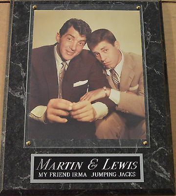 Die Hard Fan Martin & Lewis 8 X 10 Photo Plaque Sign Poster