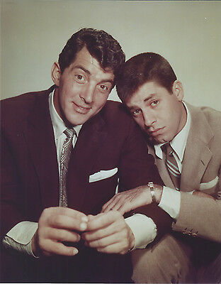 Martin & Lewis 8 X 10 Photo With Ultra Pro Toploader