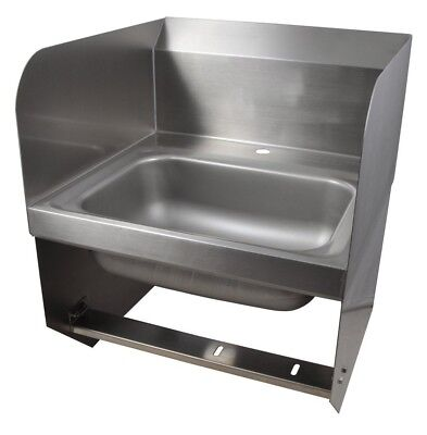"BK Resources BKHS-D-1410-1-BKK 14""W Wall Mount Hand Sink without Faucet"