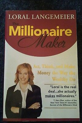 millionare maker book motivational clearance bargain sale thrift deal
