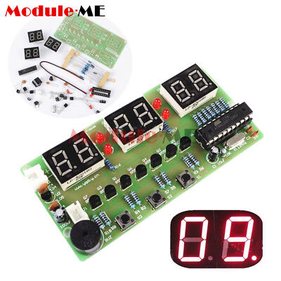 New C51 6 Bits Digital Electronic Clock Electronic Production Suite DIY Kits UK