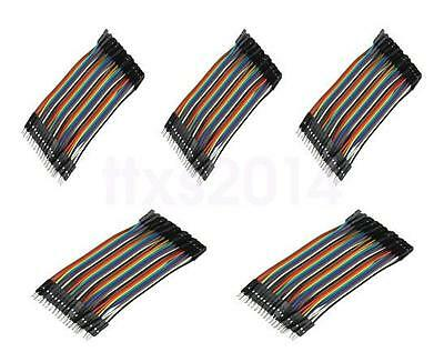 200pcs 10cm 2.54mm 1pin Male to Female Jumper Wire Dupont Cable for Arduino