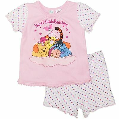 Wiinnie the POOH Baby Girls Pyjamas (PJ's) - Genuine Licensed - Free Postage