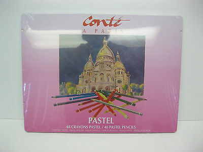 CONTE PASTEL PENCILS KIT 48 PCS  Made in France
