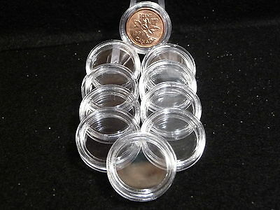 CANADIAN: COIN CAPSULES  19 mm (SMALL CENTS) (pkg of 10)    (#3)