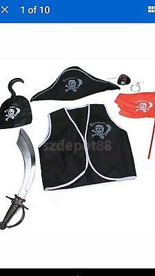 job lot of pirate role play set 120 packs