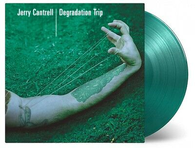 Jerry Cantrell - Degradation Trip - 2 LP GREEN Vinyl Lim. 1500 - Alice In Chains