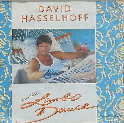 David Hasselhoff  do the limbo dance