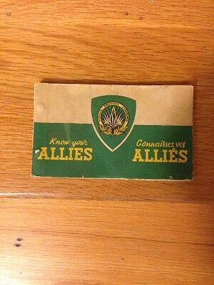 Ww2 Know Your Allies Supreme Hq Allied Powers Europe, Paris, France