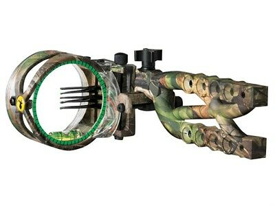 Trophy Ridge Cypher 5 Pin Rh Realtree Fiber Optic Extended Sight
