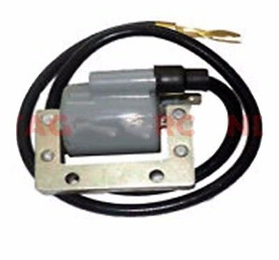 Vespa Ht Ignition Coil Grey For Px Lml Star Stella Scooters @uk