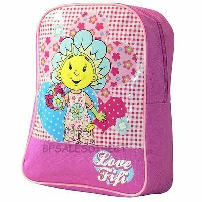 Fifi And The Flower Tots Backpack, Zipped, Pink/blue - New - Free UK Delivery