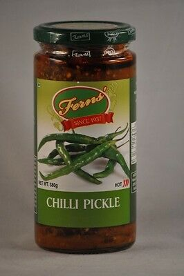 Green Chilli Pickle Relish 380g   GLUTEN FREE  SHIPPING DISCOUNT