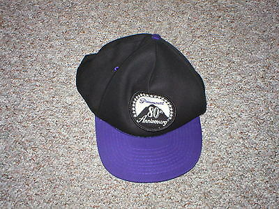 Vintage 90's Paramount Pictures 80th anniversary snap back truckers hat