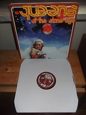 """Queens Of The Stone Age """"SAME"""" LP UNOFFICIAL GERMANY 2012 - GATEFOLD"""