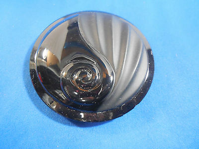 "Vintage Art Deco  Compact Double Mirror ""Luxe"" Made In France"