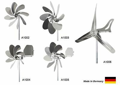steel4you stainless steel windmill - different types available - made in Germany