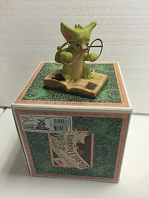 The Scholar MIB Whimsical World Of Pocket Dragons.