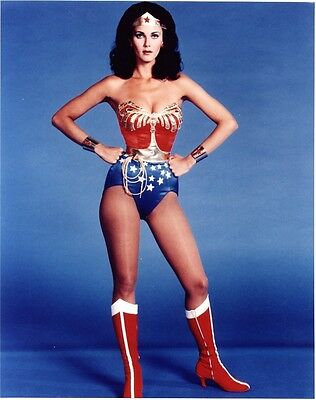 36 x DIFFERENT 10 X 8 PHOTOS OF WONDER WOMAN,LINDA CARTER.THERE ONLY £2.50 EACH!