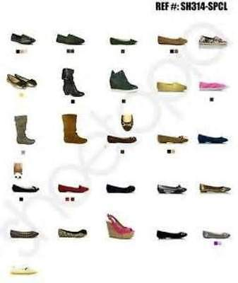 Wholesale Lot Of 50 Pairs Of Modern Ladies And Mens Shoes And Trainers
