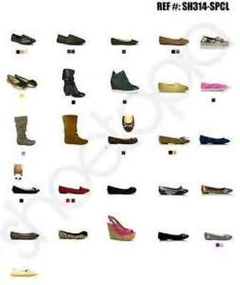 Wholesale Lot Of 25 Pairs Of Modern Ladies And Mens Shoes And Trainers