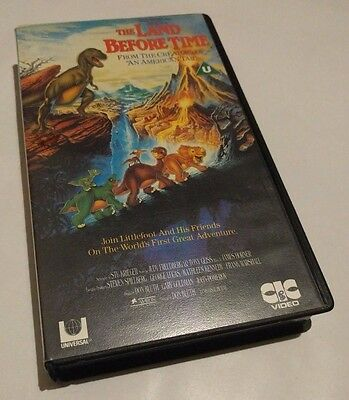 *The Land Before Time VHS* PAL Original (1996) ~Fast & Free Postage~ ELE7
