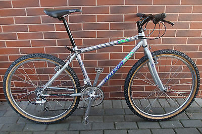 """16,5"""" 1993 MTB Raleigh USA CHILL Shimano Deore DX Ritchey Sun Chinook fork 4130"""