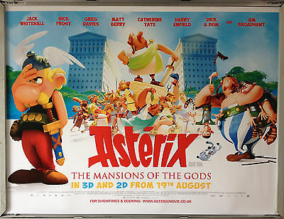 Cinema Poster: ASTERIX THE MANSIONS OF THE GODS 2016 (Quad) Roger Carel