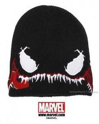 MARVEL Official Licensed VENOM Beanie Slouch Style Knit Hat COSPLAY WINTER