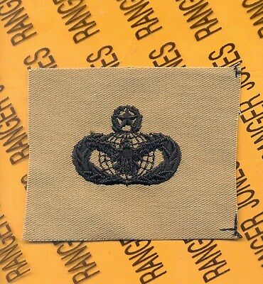 USAF SFS SPS FP Security Police Force Protection Desert DCU pocket patch