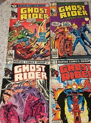 Ghost Rider Comics Lot Of 6 Issues 28 35 39 43 44 67