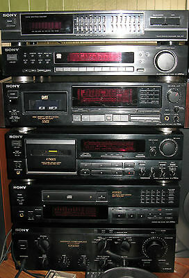 Rarissime magnifique chaine HiFi complete SONY series ES  Stereo Anlage