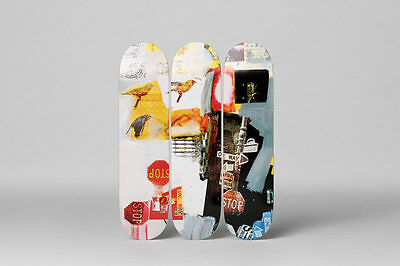 Robert Rauschenberg Fine Art Skateboard Deck Set