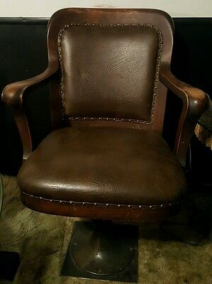 Strange Milwaukee Chair Co Swivel Chair Early 1900S 250 00 Picclick Caraccident5 Cool Chair Designs And Ideas Caraccident5Info