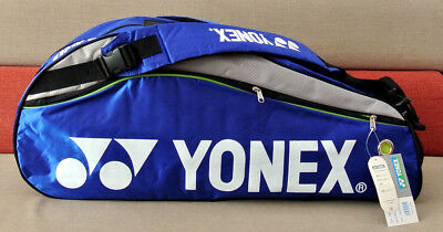 Class A Brand New Yonex 9624 Badminton Bag-Hold 4-6 Rackets, 2 Shoulder Straps!