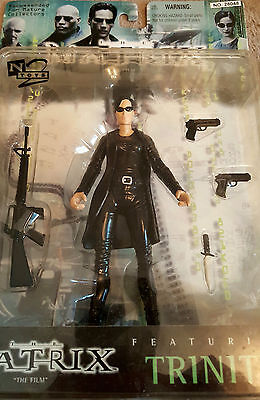 N2 Toys RARE Trinity with Trench Coat Collectible figure From The Matrix