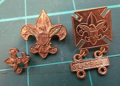 Boy Scouts of America -3- Pin 1 marked BSofA 1911