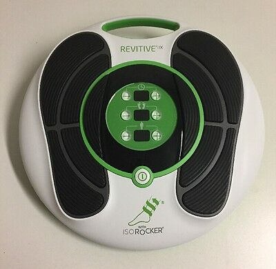 Revitive IX Circulation Booster Lower Legs with Foot ISO Rocker System