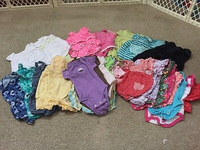 Huge Lot Of Baby Girls 6 Months Spring/Summer Clothing