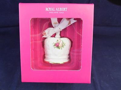 Royal Albert Old Country Roses Crown Ornament Boxed.