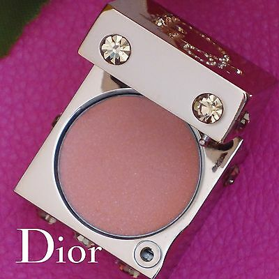 Dior Extreme Shine Lip Gloss In Metal Embossed Mirrored Crystallized Cube!