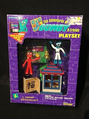 The Adventures of Gumby & Friends - Ninja Playset NEW IN BOX!